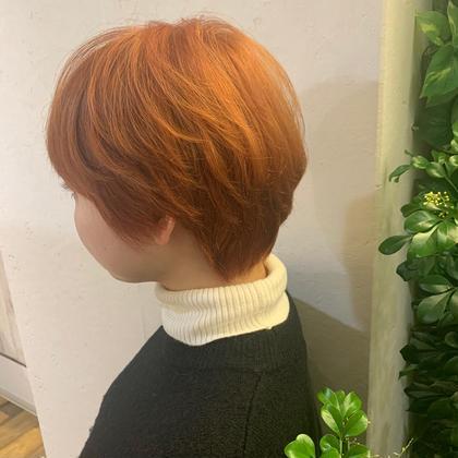 ブリーチ+オンカラー! orange  color urayathesalon所属・松永豊樹のスタイル