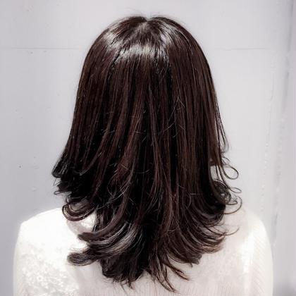 ⚠️平日限定⚠️ オーガニック艶カラー(全体)+前髪カットorトリートメント