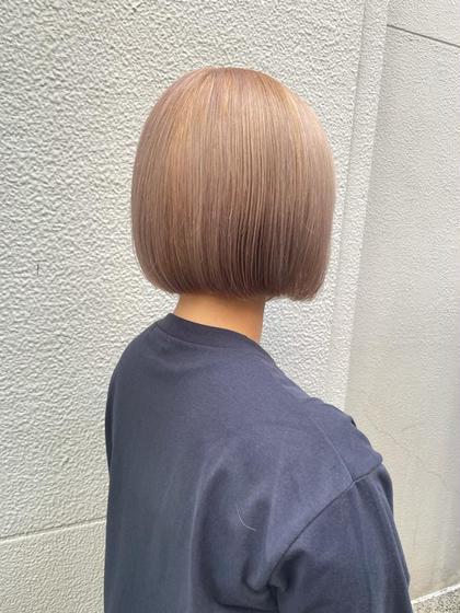 [期間限定]💗人気No. 1💗カット+ワンカラー+髪質改善トリートメント😍透明感カラーに✨