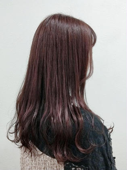 生活応援📣カラー×前髪カット