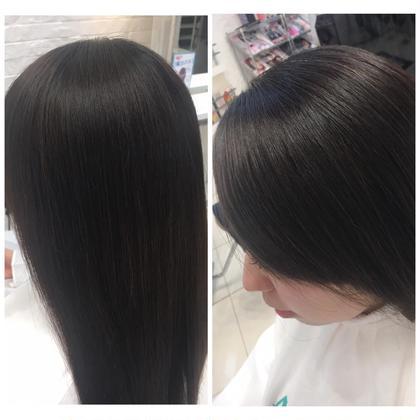 ナチュラルな艶髪になります(╹◡╹)! リタッチのみでこの仕上がり✨ Ash 渋谷店所属・荻原絵理奈のスタイル