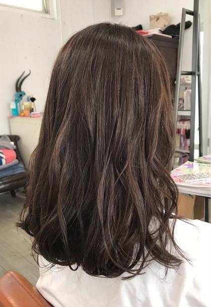 その他 セミロング #秋オススメカラー#スモーキーピンク#夏のダメージ毛にオススメのツヤ✨カラー#ツヤだし程度の薄いピンクなので大人にもオススメ