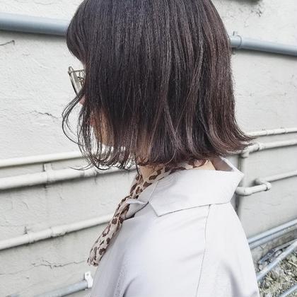 【メンテナンスメニュー】前髪カット&トリートメント