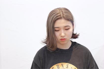 【✨✨透明感抜群✨✨】骨格補正カット+イルミナ(外国人風艶髪)カラー