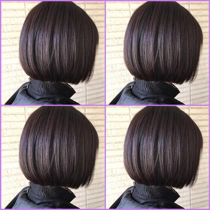 話題の劇的に変わる髪質改善酸熱トリートメント+デザイナーカット