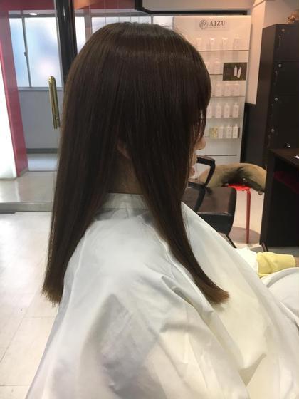 傷みを極力抑えたヘアカラーです 色味を変えることもできるので是非お試し下さい AnyWay所属・艶髪カラーリスト馬場 弘樹のスタイル