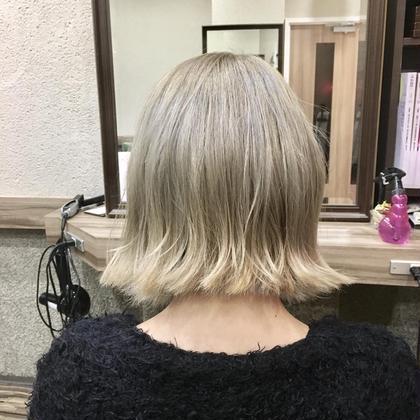 4回ブリーチからのパープルベージュ Hair Salon Be-one所属・佐々木洋輔のスタイル