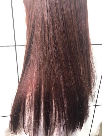 ❤︎ color ❤︎ + ❤︎ 髪質改善トリートメント ❤︎