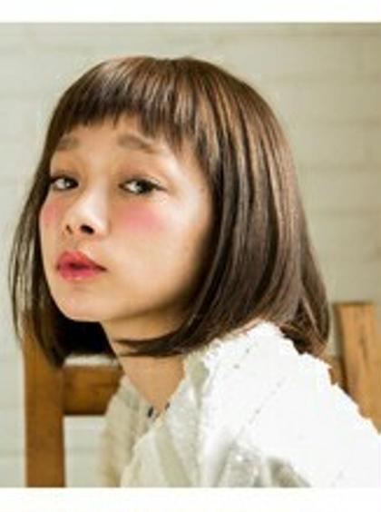 【minimo会員】前髪カット+アミノカラー☆