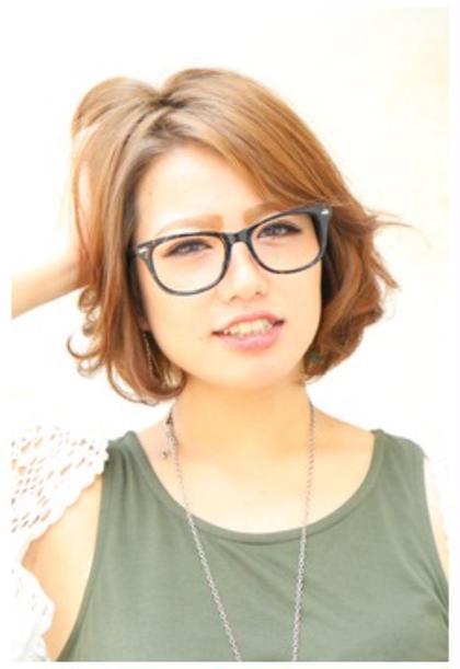 カジュアル♪ガーリースタイル☆ garbo hair (ガルボヘアー)所属・小松秀生のスタイル