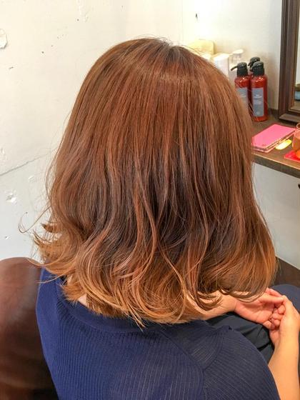 【2回目〜】デザインカット&N.カラーorコスメパーマ&髪質改善超回復TOKIOトリートメント