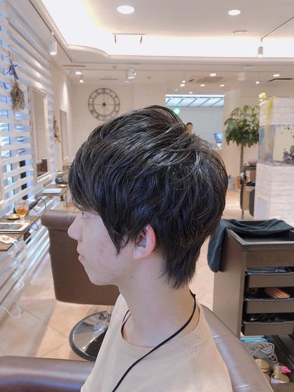 宮崎静也のメンズヘアスタイル・髪型
