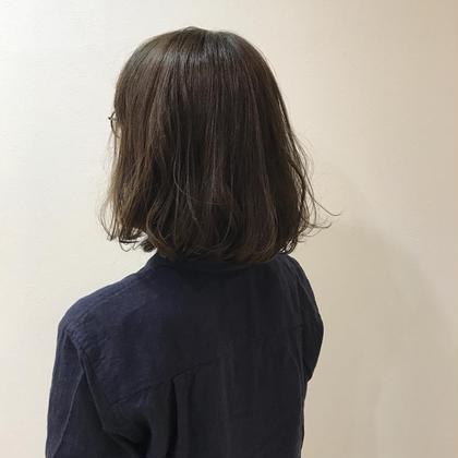 透明感のあるアッシュ系が得意です☻☆ 細かくハイライトをいれて透明感をだしますっ♡ BLESS所属・内田奈菜のスタイル