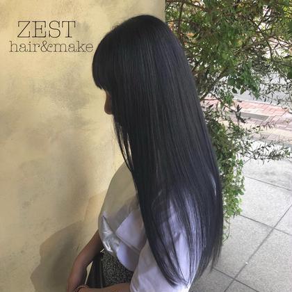 🌈 《2020年流行》カラー + 髪質改善トリートメント