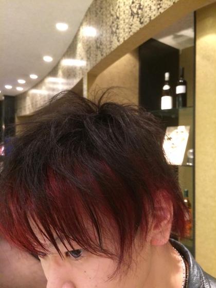メンズデザインカラー★ hairmakeEARTH岐阜店所属・新川はる菜のスタイル
