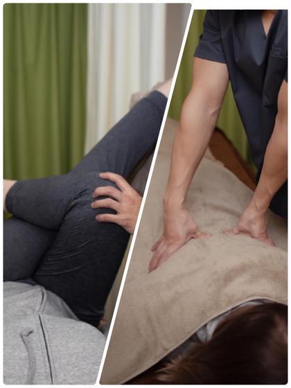 【骨盤矯正+肩甲骨はがし+全身ツボ押しマッサージ】🦴姿勢・バランス・体幹力改善🦴