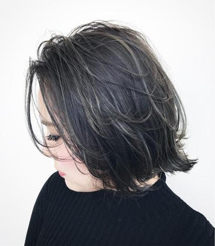 【再来店】外国人ハイライト+ダメージ補修5stepトリートメント
