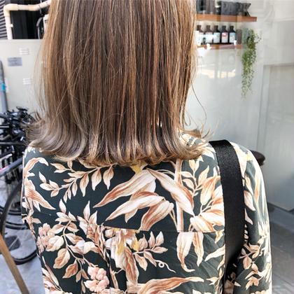 ✅【再来2.3回目のご来店】抜け感カット & 透明感カラー & トリートメント