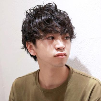 【男性限定】カット+デザインパーマ¥12100