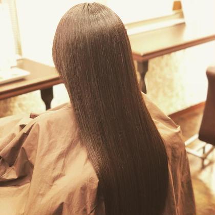 ストレートモデル大募集❤️  アイロンは使わず、ブローでのストレート😊 なるべく髪への負担を軽減し自然な仕上がりに✨