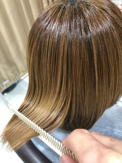 ブリーチ毛の髪質改善もお任せください♪  #横浜髪質改善 #横浜縮毛矯正 #横浜酸熱トリートメント