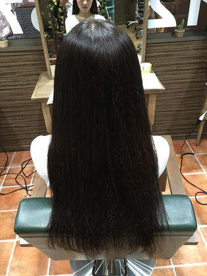 極艶ダメージレスストレート Agu hair RIDE所属・Agu hairRIDEのスタイル