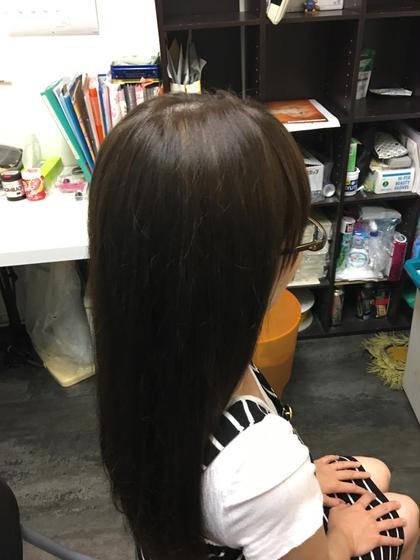 【KANNOproduce】大人気☆ヴェールカラー&カット&ハホニコトリートメント