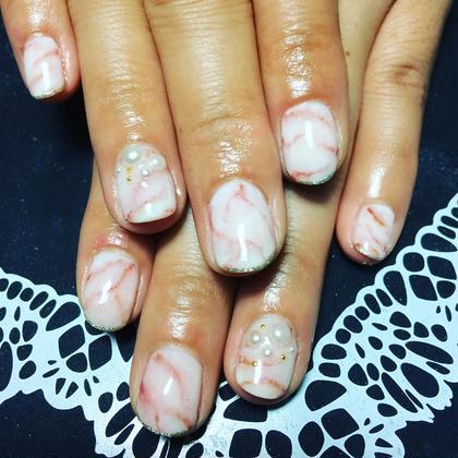 フルコース 6500オフ込み 大理石風ネイル preciosa.nail所属・preciosa.nailのフォト