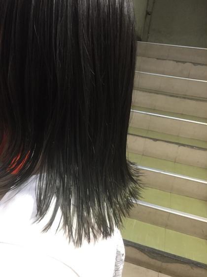 darkforest×olivegreen hair studio menos所属・黒岩葉のスタイル