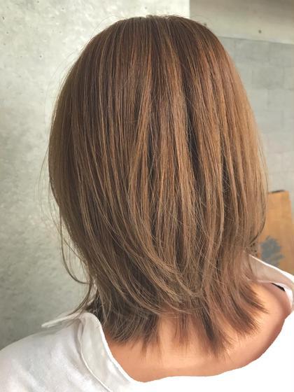 ROUTE所属のROUTEmomokoのヘアカタログ