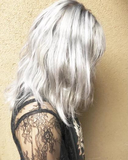 その他 カラー キッズ セミロング ネイル パーマ ヘアアレンジ マツエク・マツパ メンズ 髪の毛の強さにねがいましょう!