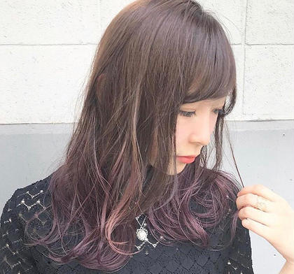 ray鴨宮所属の【カラー】人気1位新井涼太のヘアカタログ