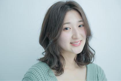 【30代ママにオススメ☆】カット+ホリスティックカラー¥15120⇒¥9990