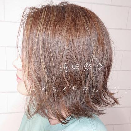 ☆【新規限定】似合わせカット&艶カラー&トリートメント★