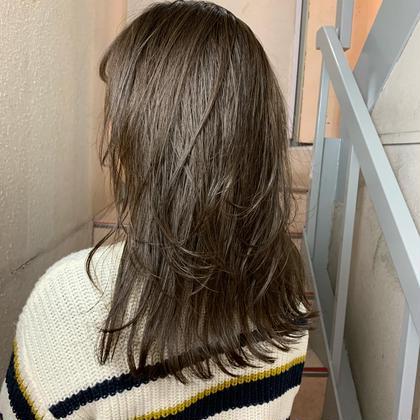 表面に短い毛を作り、軽やかさを出しています! 僕の得意とするカットの一つなのでぜひお試しください! オーブヘア奈良店所属・AUBE近鉄奈良店のスタイル