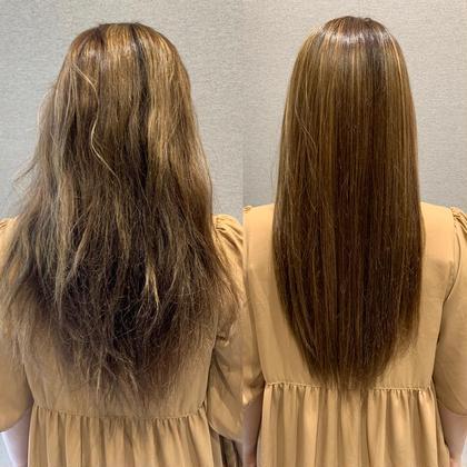 ¥7500   カット 髪質改善ボトメント