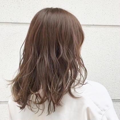 👑人気No.1👑THROW透明感カラー+カット+ダメージ集中ケアトリートメント🌿