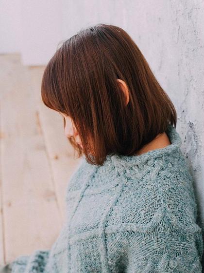 ⭐️新規⭐️ カット+ベーシックストレートパーマ🍎[ロング別]