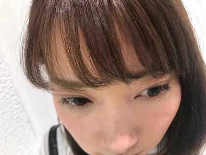 前髪カット+前髪パーマ✨