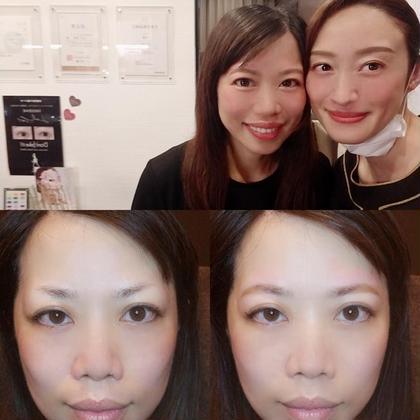 眉毛を変えるだけでお顔の印象は変わります。-5歳も夢じゃありませんよ!是非美眉スタイリングメニューお試しください😊