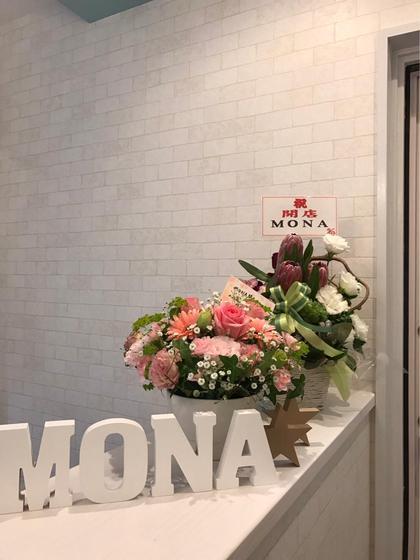 受付はレンガ調☆ MONA eyelash所属・MONAeyelashのフォト