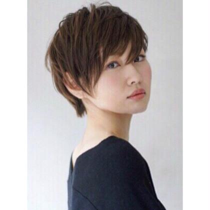 ショートスタイル fur所属・荒川実駒のスタイル