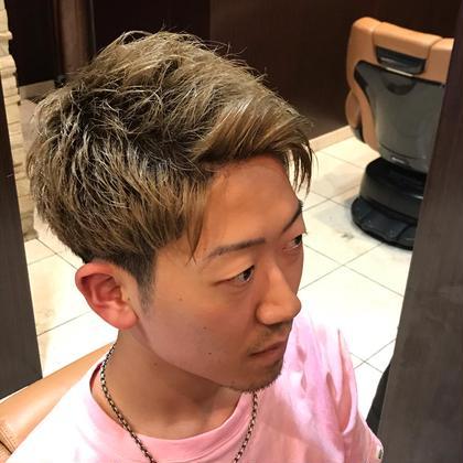 デザインカットコース  カット 顔剃り シャンプー