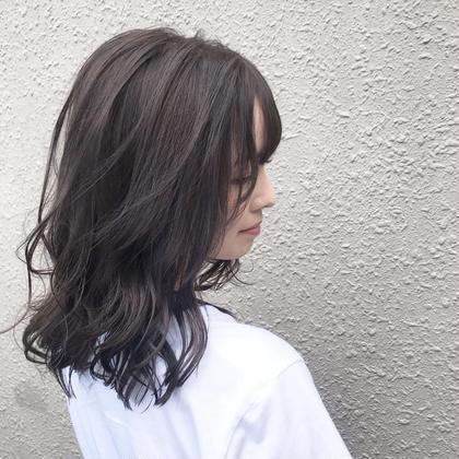 🌈【おすすめ】カット + カラー + エレメントトリートメント