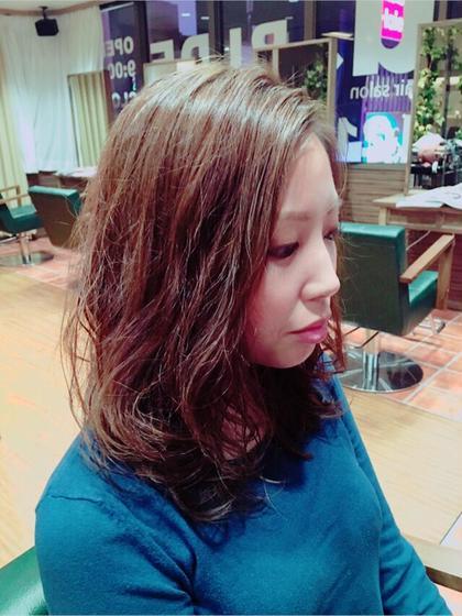 マットアッシュ ゆるふわパーマ Agu hair RIDE所属・Agu hairRIDEのスタイル