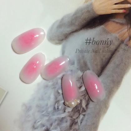 チークネイル #bonńy nail所属・#bonńynailのフォト