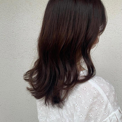 💐韓国小顔カット+高発色カラー+色持ちトリートメント