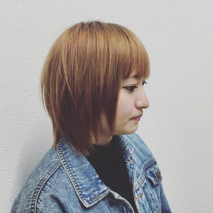 直毛の方ですが、なるべく動きぐでて、やわらかく見えるようにカットしました(*^_^*) hair&lifestyleLAND所属・芹澤隆信のスタイル