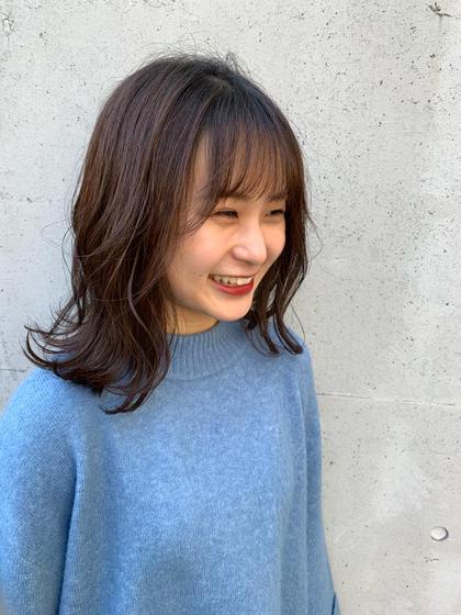 ✨前髪カット+イルミナカラー+トリートメント+プチスパ