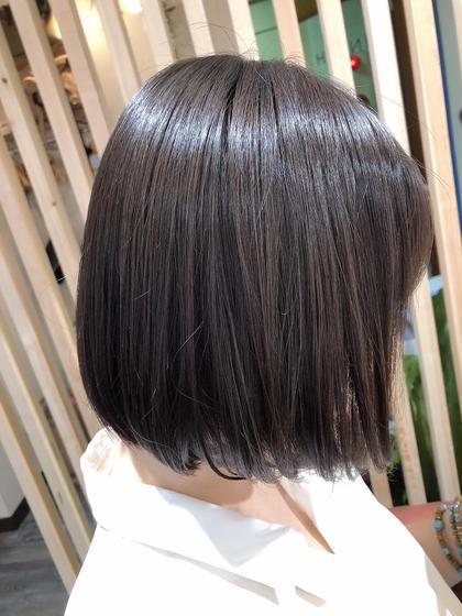 ✨髪質改善風トリートメント✨ショート〜ミディアムにお勧め🙋♀️髪質改善ストレートとトリートメントを合わせた新メニュー